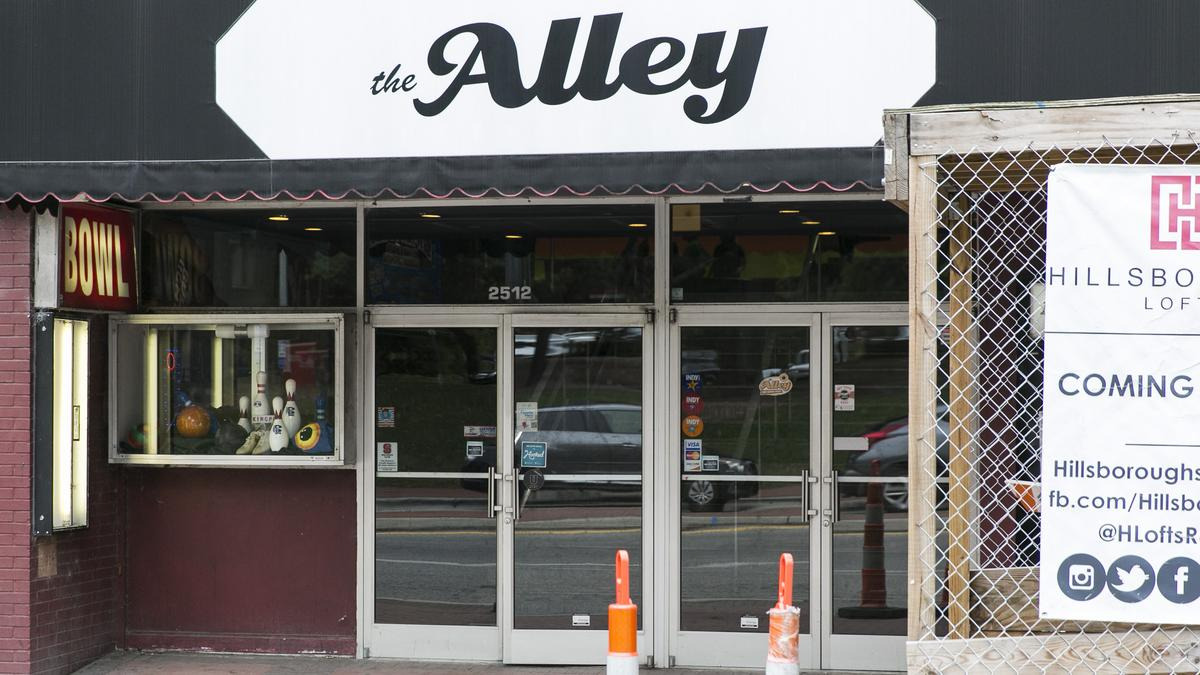 The Alley Moving From Raleigh S Hillsborough Street To