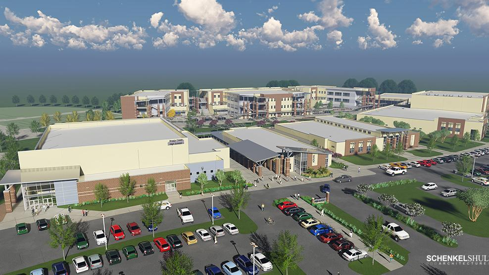 New 75m Boggy Creek High School Will Help Fill Demand For