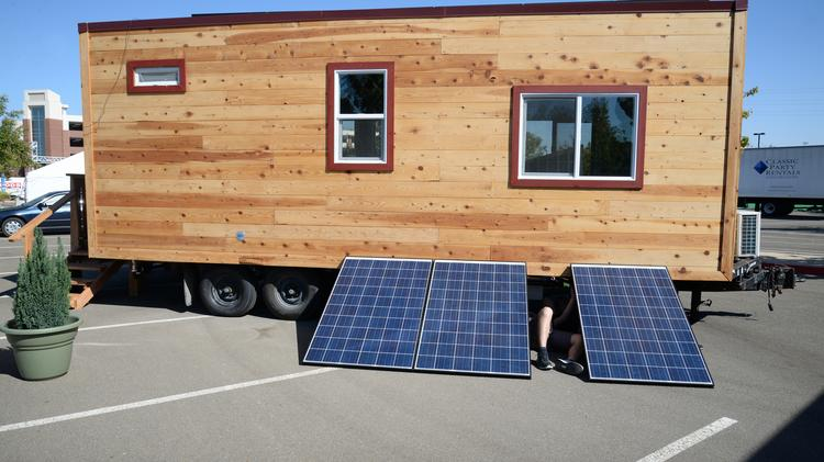 Sacramento Municipal Utility District holds tiny house contest