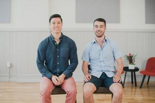 Scent Trunk's William Yin and Richard Smale