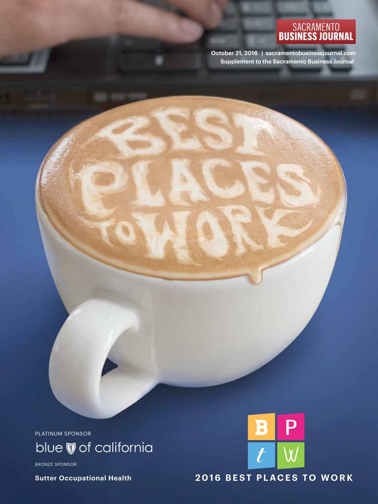 Best Places to Work 2016 cover 2016