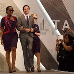 Delta hosts fashion show for employees unveiling new uniforms (SLIDESHOW)