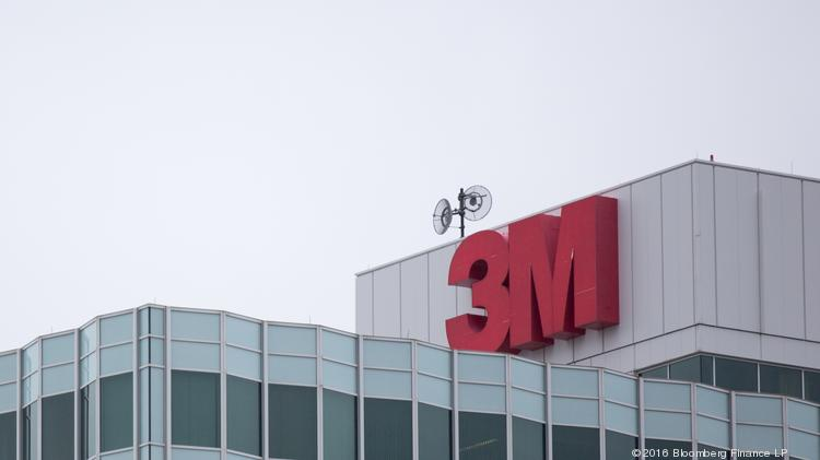 A view of 3M Co. headquarters stands in St. Paul, Minnesota, U.S. the adhesive manufacturer that filed a lawsuit against Xpel Technologies Corp., a San Antonio-based tech company.