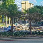 Structural materials collapse near high-end Echo <strong>Brickell</strong> project