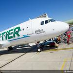 Frontier Airlines takes 1st U.S. delivery of new Airbus jet