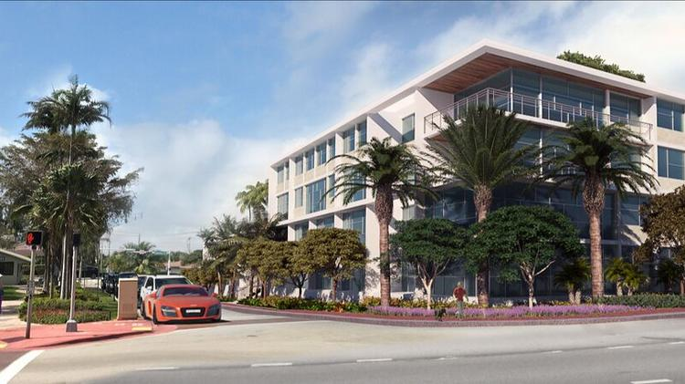 The 88 Collins project will have 28 units at 8800 Collins Ave. in Surfside.