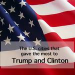 Election 2016: Who gave to Trump and <strong>Clinton</strong> locally?