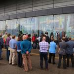 Cincinnati unveils historic murals in new downtown location: PHOTOS