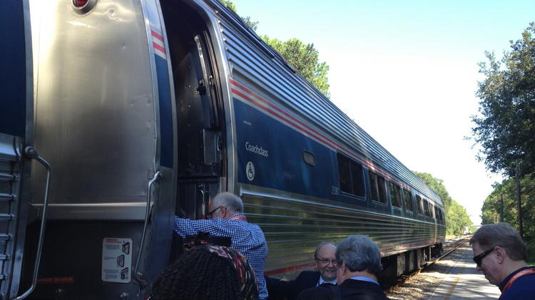 Could a rail advocacy group's efforts bring back Amtrak service between Orlando and New Orleans?