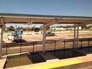 The SunRail station in Sanford is the first Seminole County stop when coming south from Volusia County.