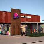 Taco <strong>Bell</strong> store made from recycled shipping containers finds home in LA
