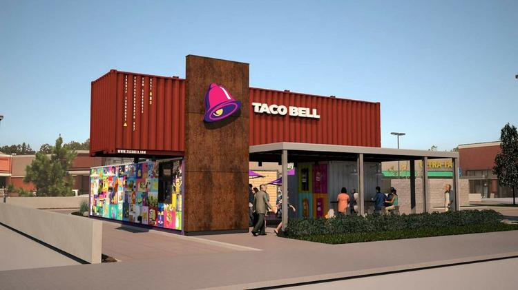 This Taco Bell Is Made From Recycled Shipping Containers
