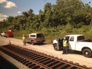 There's plenty of working on the railroad along the SunRail route.