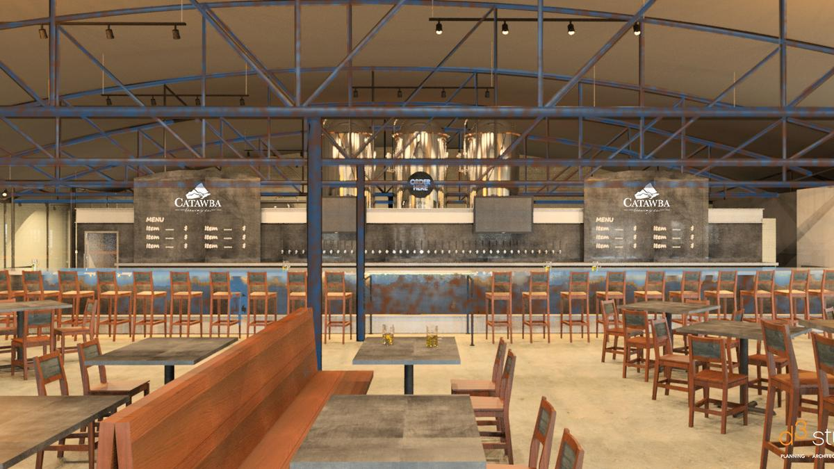 Inside catawba brewing 39 s plans to add charlotte brewery Interior design firms in charlotte nc