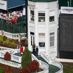 Iconic pagoda gets makeover in time for Churchill Downs' Fall Meet