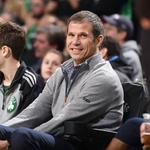 How's this for openers? As Celtics start their season at home, team's president talks business