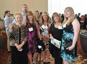 Honoree Sheila G. Mains and her team from Sheila G Brands.