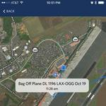 Delta passengers can now view their bag's trip on a map