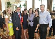 Honoree Julie Talenfeld and her team from Boardroom Communications.