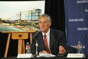 "Portland Mayor Charlie Hales said Friday that Daimler, which reestablished Portland as its North American headquarters base, fits in nicely with Portland's economic core. ""I love that we make movies here, that we have a new economy and that we also make real things here that are sold throughout the world,"" he said."