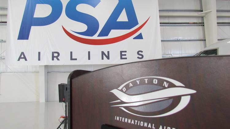 The continued growth of PSA Airlines Inc. has been a boost to Dayton International Airport.