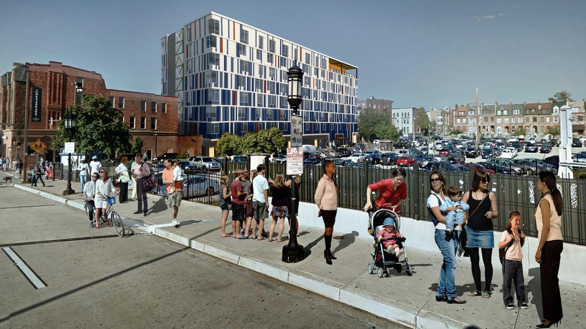 Colorful, artsy 103-unit market-rate apartment complex underway in ...