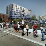 Colorful, artsy 103-unit market-rate apartment complex underway in Station North