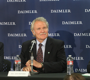 "Oregon Gov. John Kitzhaber said the Daimler headquarters discussions began 18 months ago. While he described the state's recovery as ""spotty,"" he noted, ""On balance, this is very good news."""