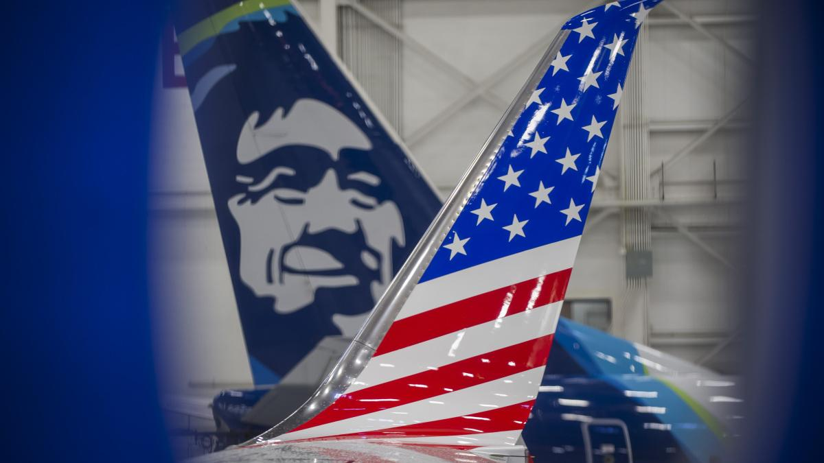 New Alaska Airlines Boeing 737 Livery Honors Military And