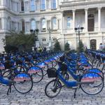 City's bike share program rolls out Friday with 200 electric-assisted bikes, 20 stations (Video)