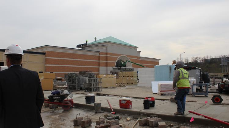 The Von Maur department store building at The Corners of Brookfield.