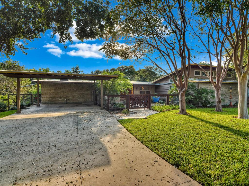 San antonio luxury real estate for sale 7519 quail run dr for Mid century modern real estate