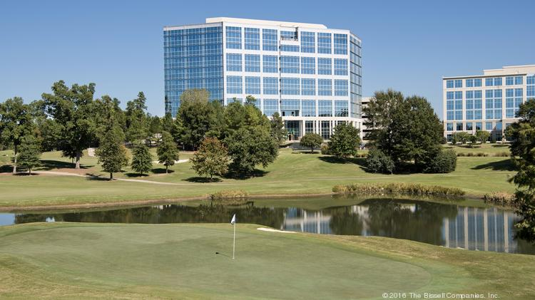 The 10 Story 287 507 Square Foot Brigham Building At Ballantyne Corporate Park