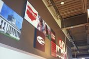 The Gahanna Smashburger includes some customized decorations to showcase its location.
