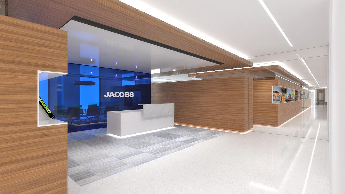 Jacobs chairman and ceo details headquarters relocation for Office design group inc