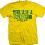 Simply Seattle re-releases 'Make Seattle Super Again' tees after Chris Hansen's latest NBA arena push