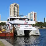 Tampa/St. Pete ferry service takes its maiden voyage (Video)