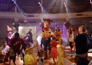 Dance parties were part of the festivities, including Woody's Happy Harvest Roundup dance party at Frontierland's Diamond Horseshoe Revue.