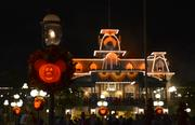 And Main Street USA really came alive when the lights went up.