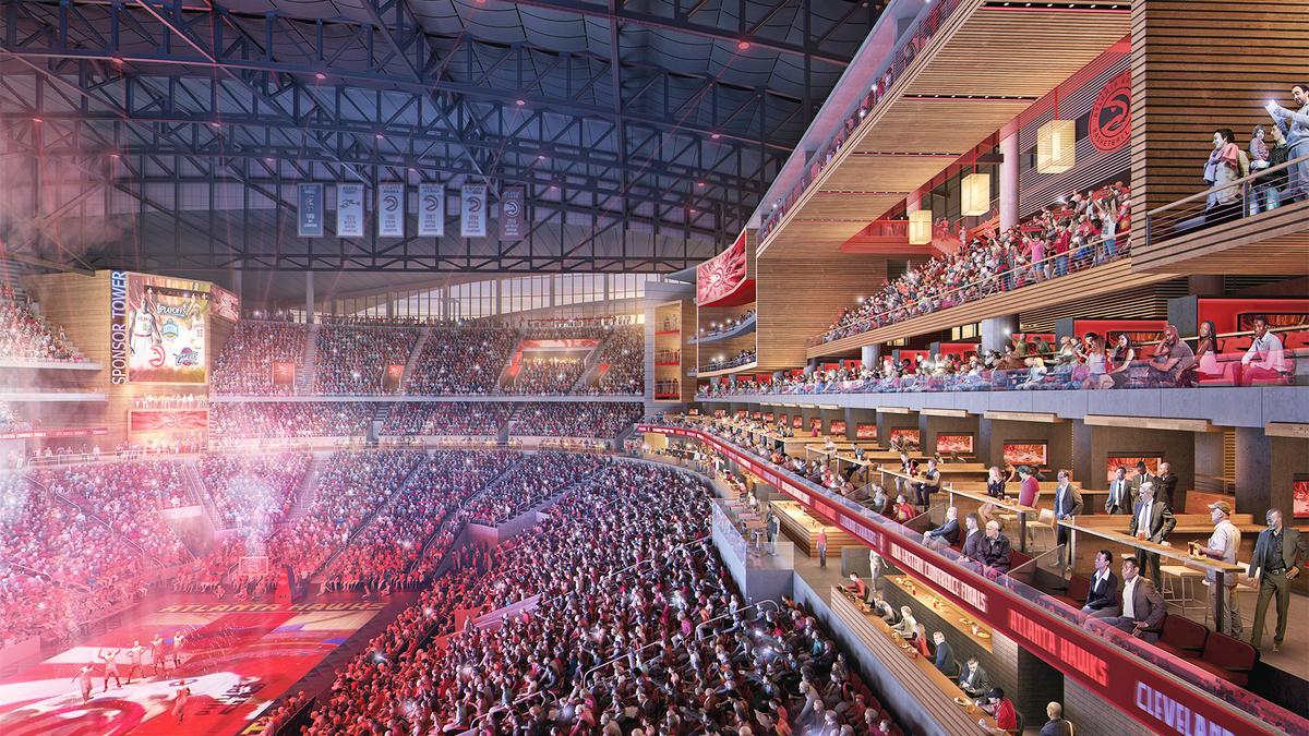 Mayor Kasim Reed Atlanta >> Philips Arena project could be catalyst to develop 'Gulch' - Atlanta Business Chronicle