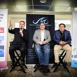 High-profile business leaders discuss South Florida's economic future at boat show