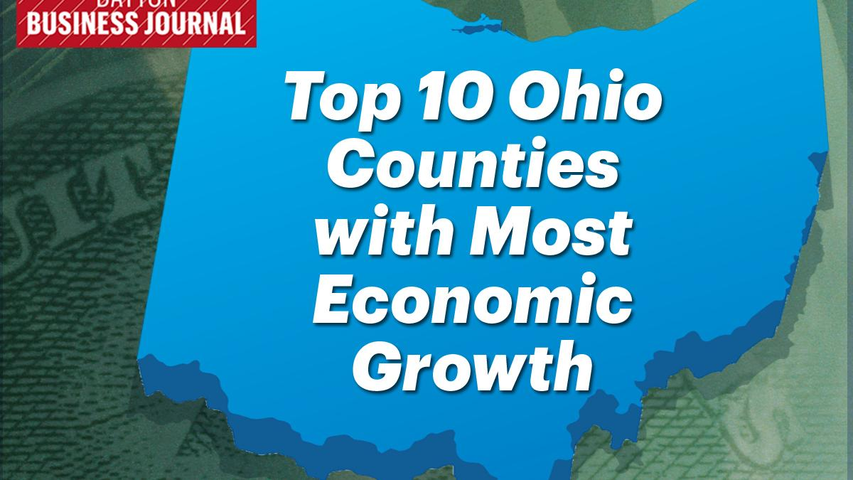 Top 10 Ohio counties with the most economic growth ...