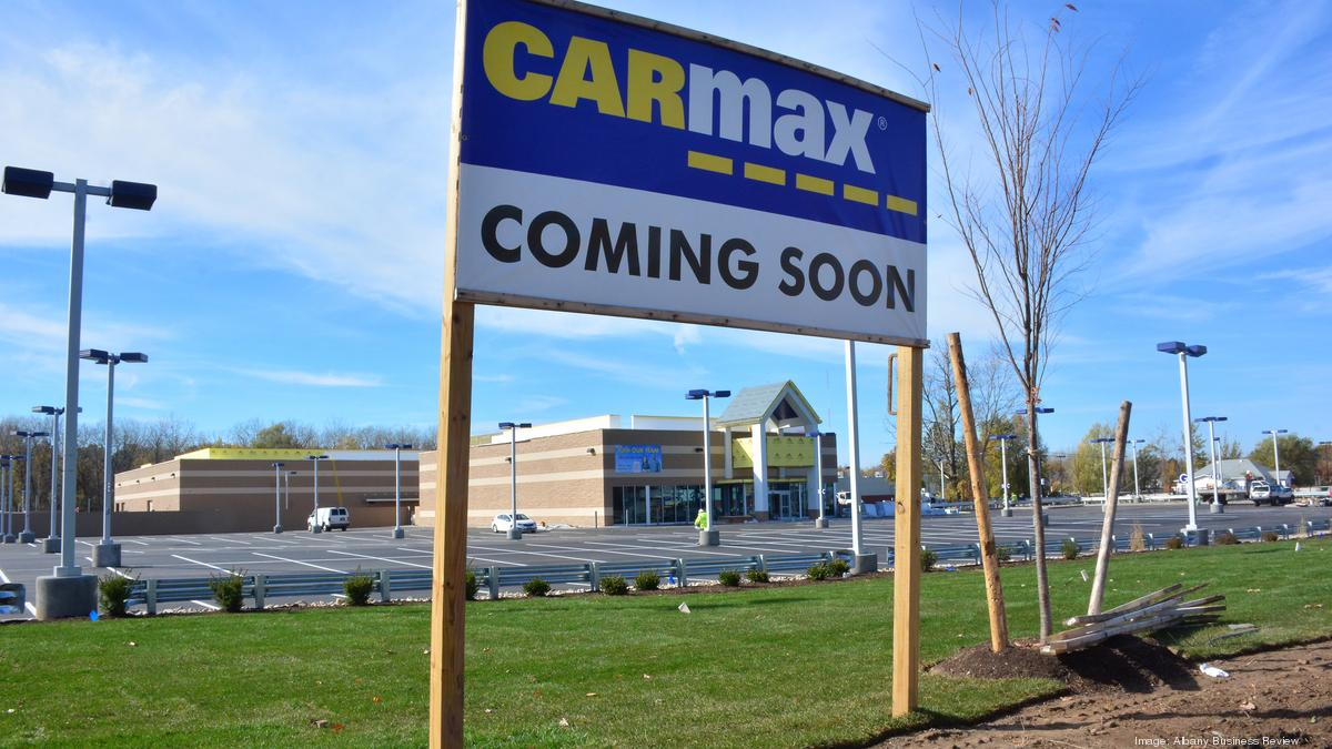 Carmax to open soon in colonie ny dealerships aren t concerned about competition albany business review