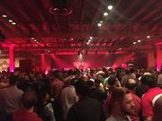 """Dom's event was well attended. """"Our goal was not to sell them hard there, it was to let them have a good time, to tell them a little about Domo and hopefully they come back and want to learn more,"""" said Julie Kehoe, Domo's vice president of communications."""