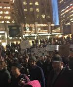 Portland protesters take over streets, interstates as anger over Trump erupts