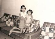 No. 4: This Minority Business Leader honoree poses with her sister at a young age.