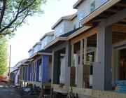 The project's 260 units include 13 townhomes.