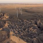 Wind and solar power the Colorado plains