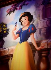 And the one who started it all, Snow White. Not bad looking for a girl who's been around since 1937.