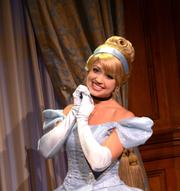And speaking of a thousand squee-ing little girls. Cinderella says hi.